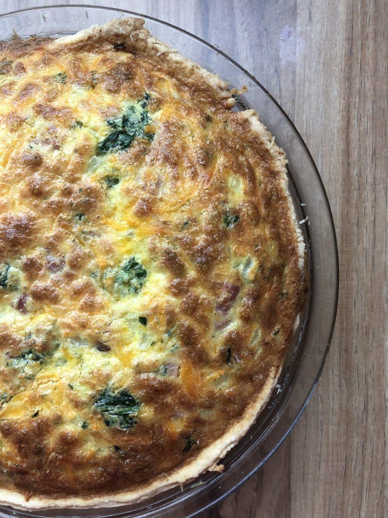 Ham and Cheese Quiche - Tuttle Kitchen