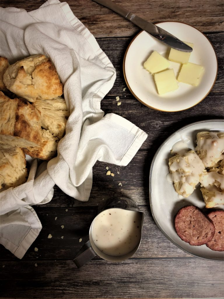 Biscuits and Gravy -Tuttle Kitchen
