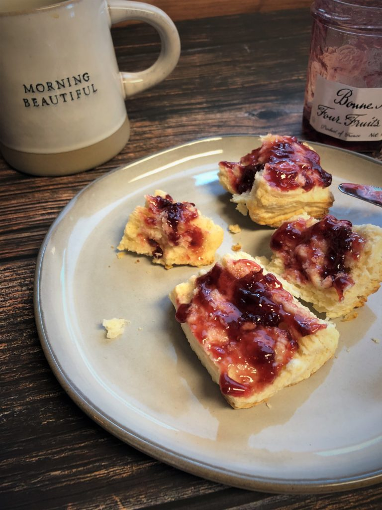 Biscuits with Jam -TuttleKitchen