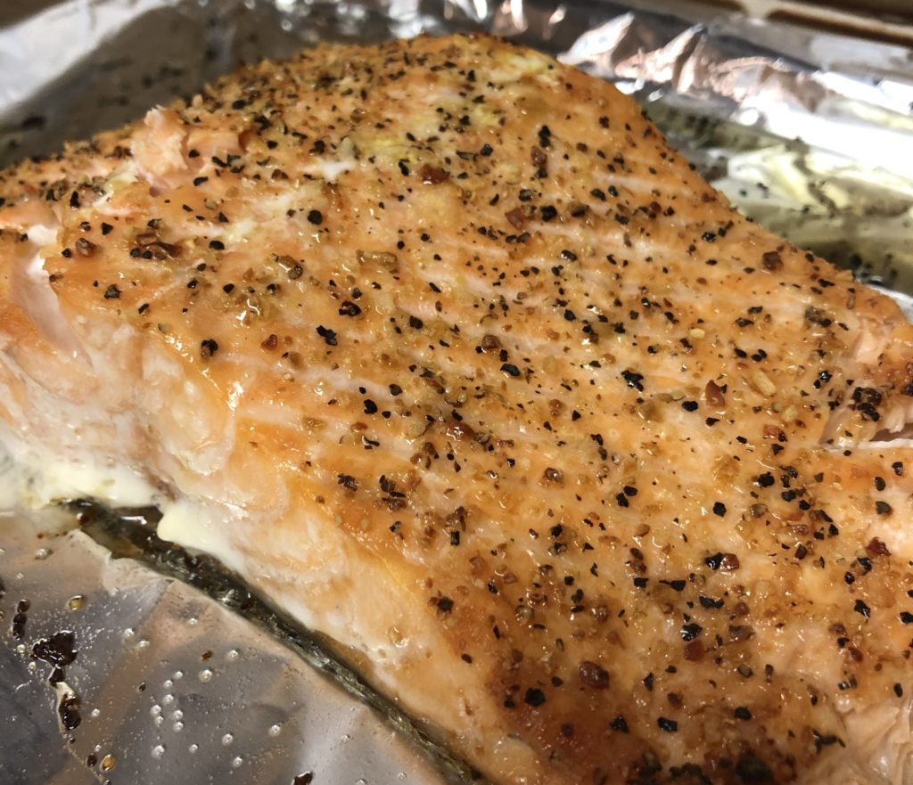 Salmon Filet Baked - Tuttle Kitchen