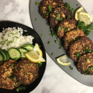 Salmon Cakes - Tuttle Kitchen