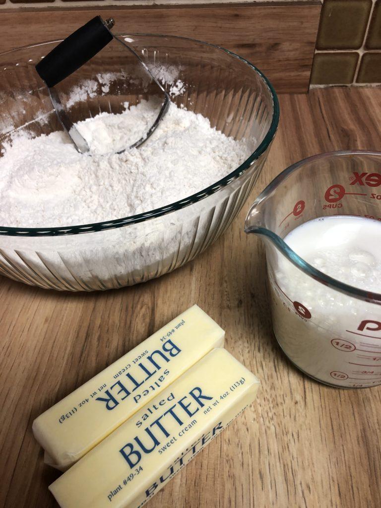 Biscuit Ingredients-TuttleKitchen