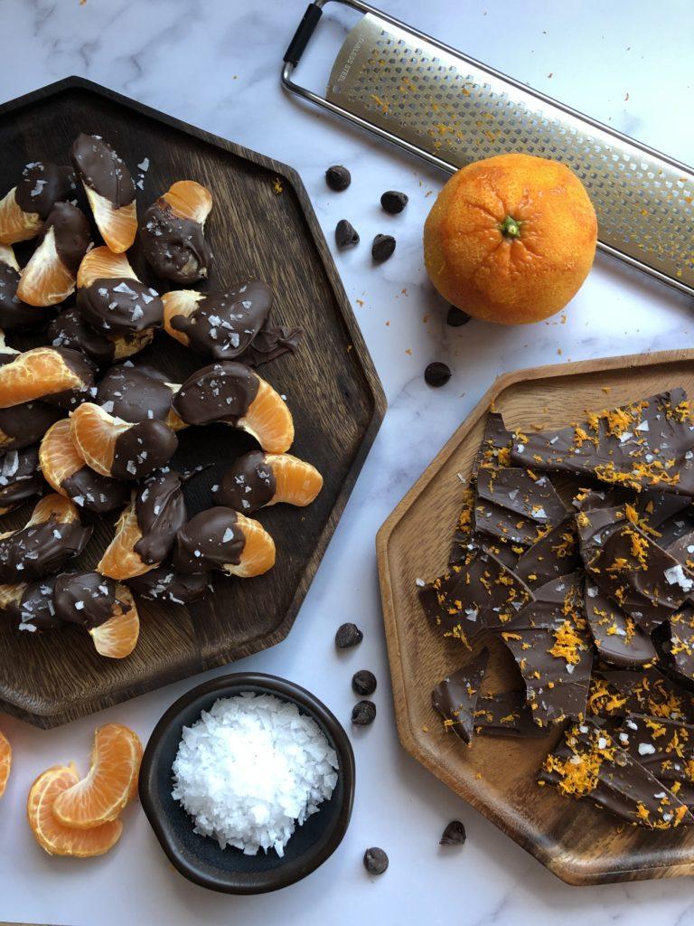 Orange Chocolate Snacks - Tuttle Kitchen