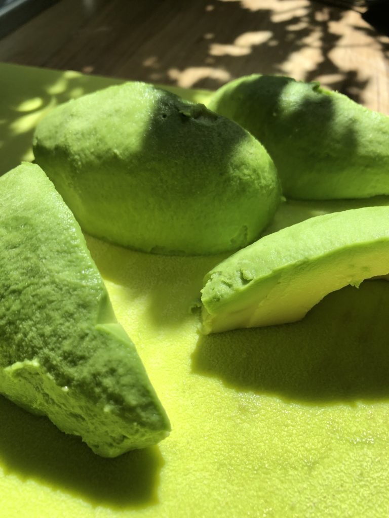 Peeled Avocado - Tuttle Kitchen