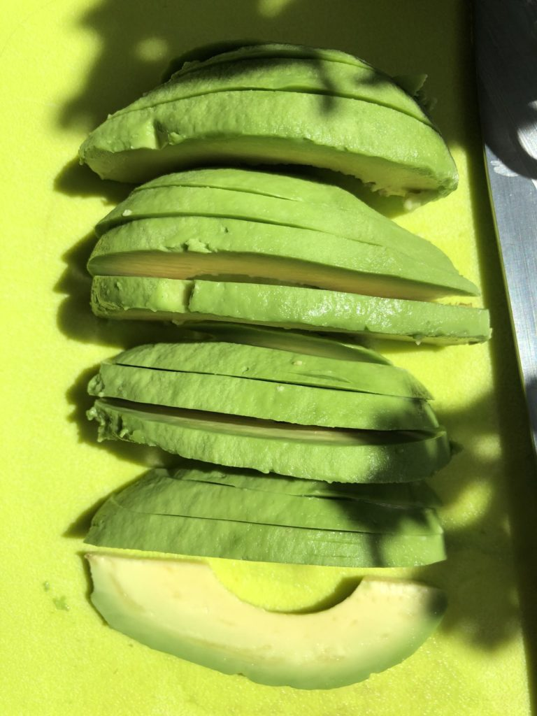 Sliced Avocado - Tuttle Kitchen