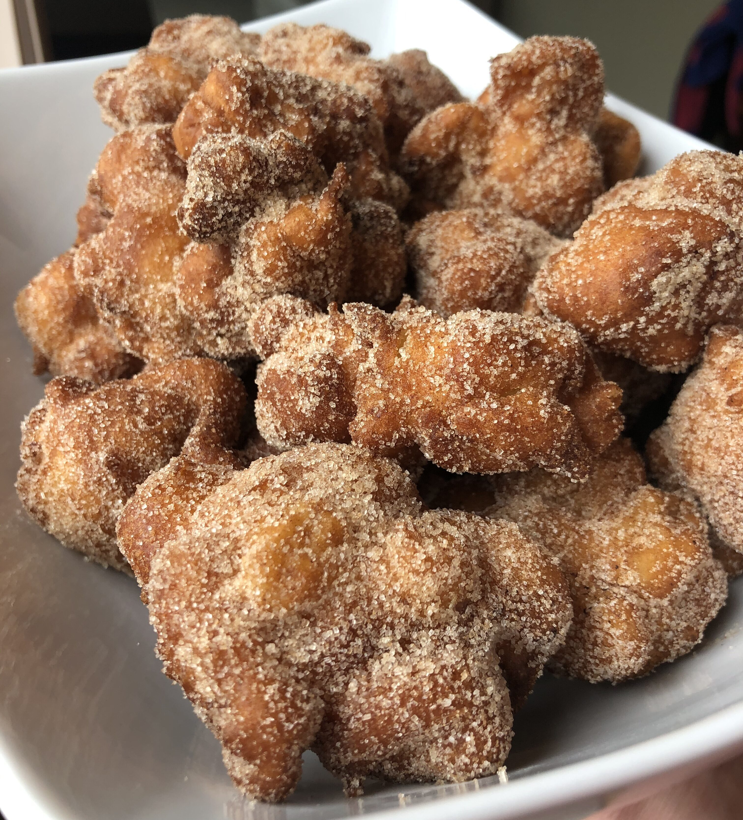 Finished Apple Fritters - Tuttle Kitchen
