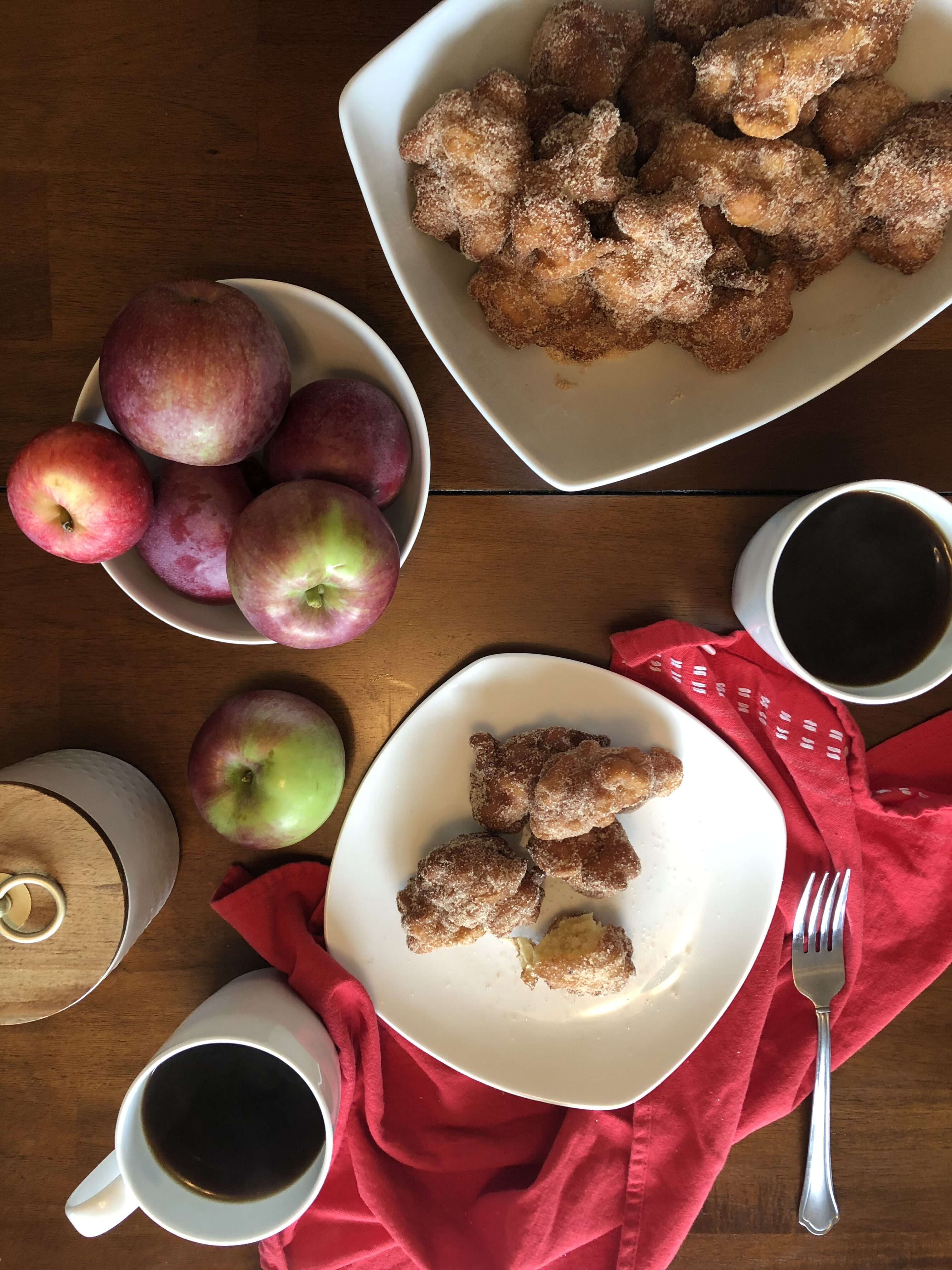 Apple Fritter Breakfast - Tuttle Kitchen