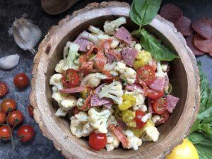 Antipasti Cauliflower Salad - Tuttle Kitchen