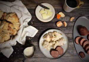 Biscuits and Sausage -TuttleKitchen