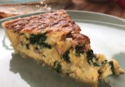 Ham and Cheese Quiche Slice-TuttleKitchen