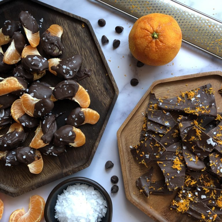 Orange Chocolate Desserts - Tuttle Kitchen
