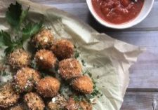 Fried Mozzarella Balls - Tuttle Kitchen