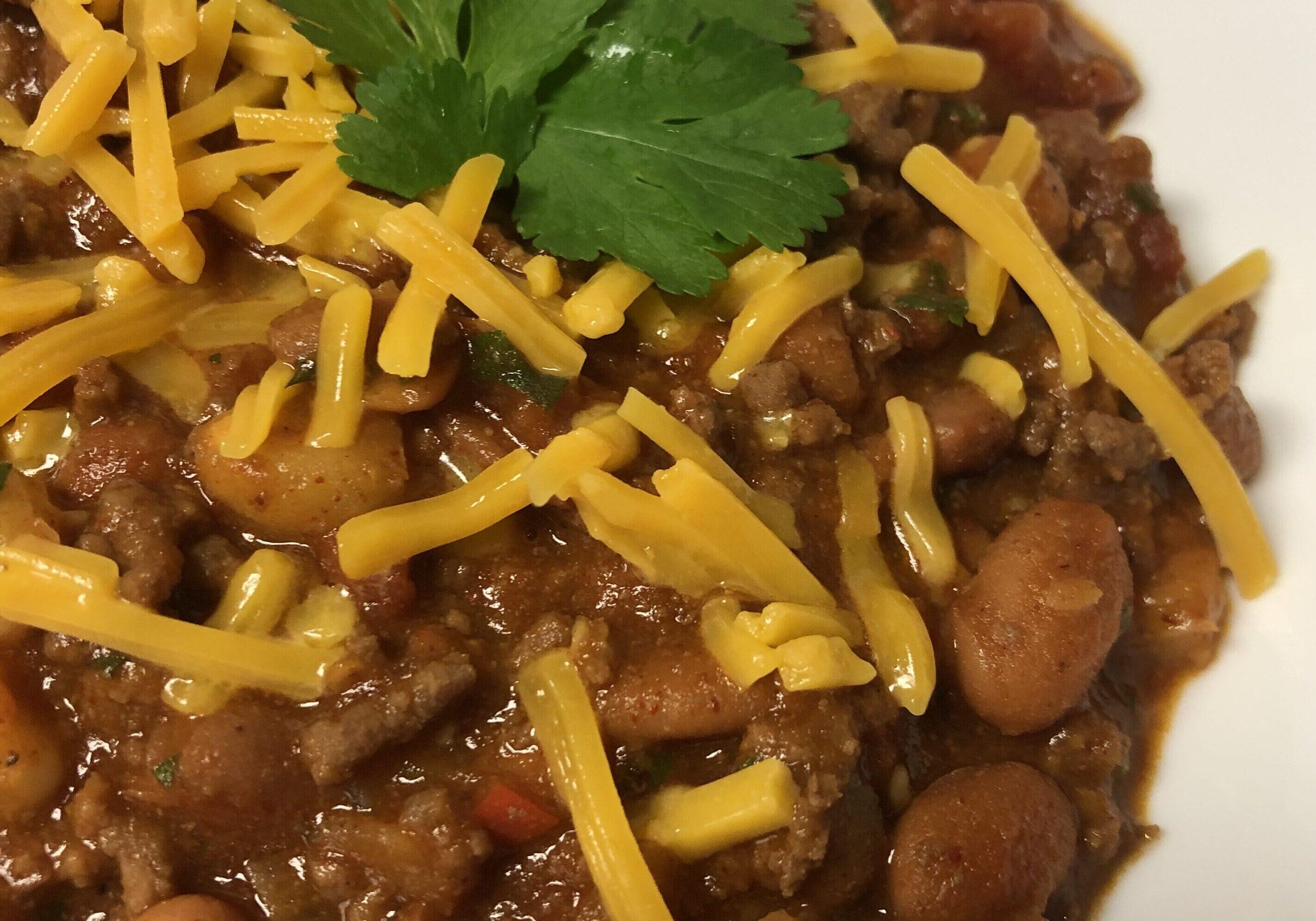 Beef Chili-Tuttle Kitchen